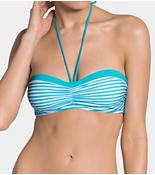 SLOGGI SWIM TURQUOISE STRIPES Bikiniöverdel