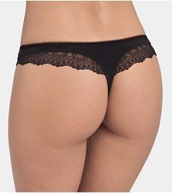 LOVELY ANGEL CURVES String brief