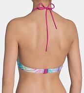 SLOGGI SWIM PINK PALM Haut Bikini à armatures