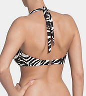 BEAUTY-FULL ZEBRA Bikini top padded