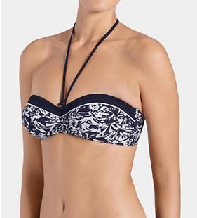 SLOGGI SWIM MIDNIGHT FLOWER Bikini Oberteil mit Bügel