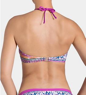 SLOGGI SWIM ORCHID LATINA Bikini top padded