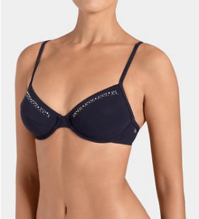 SLOGGI SWIM MIDNIGHT ESSENTIALS Bikinitop met beugel