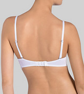 ROMANTIC ESSENCE Wired padded bra with detachable straps