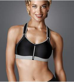 TRIACTION CONTROL BOOST Sports bra with front closure