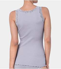 SILK DELUXE LACE Vest Tank top