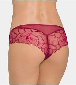 SHEER ROSE ESSENCE Brazilian brief