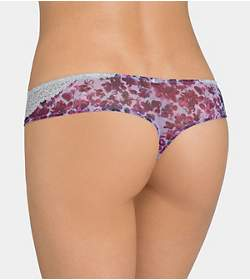 AMOURETTE SPOTLIGHT FLORAL String brief