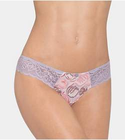 AMOURETTE SPOTLIGHT PEACOCK String brief