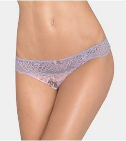 AMOURETTE SPOTLIGHT BLOOM Slip échancré