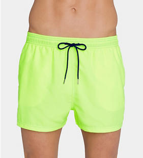 SLOGGI SWIM LIME SPLASH Short de bain court