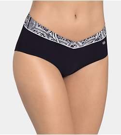 SLOGGI SWIM NIGHTBLUE PEARLS Bikini Midi Slip