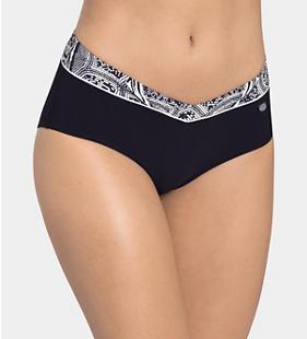 SLOGGI SWIM NIGHTBLUE PEARLS Bikini midi bottom