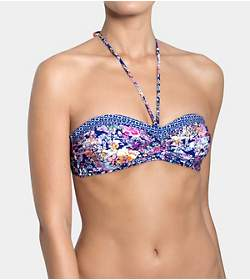 SLOGGI SWIM AQUA ROMANCE Bikinitop