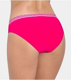 SLOGGI SWIM RASPBERRY SWEETS Bikini slip haut échancré