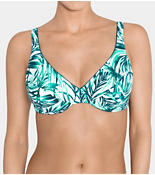 SLOGGI SWIM JADE LEAVES Underwired bikini top