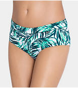 SLOGGI SWIM JADE LEAVES Bikini midi bottom