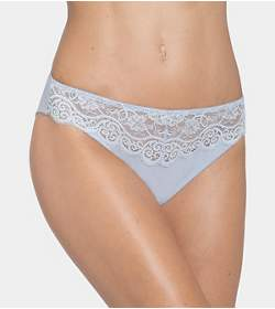 AMOURETTE 300 COTTON & LACE Taislip