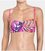 PAINTED TULUM Magic Wire bikini top with detachable straps