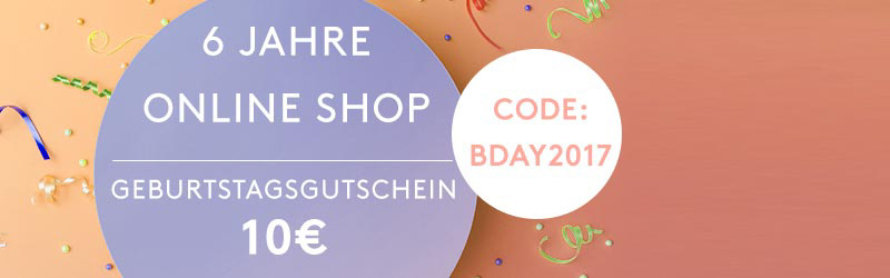 Online Shop Birthday