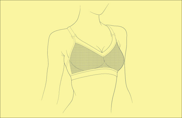Non-wired sports bras