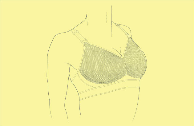 Padded sports bras