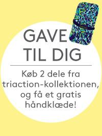 Gave til dig: Køb 2 dele fra triaction-kollektionen, og få et gratis håndklæde!